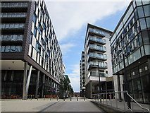 SE3032 : The Boulevard at Clarence Dock, Leeds by Jeff Buck