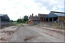SK0425 : Manor Farm, Newton by Mick Malpass
