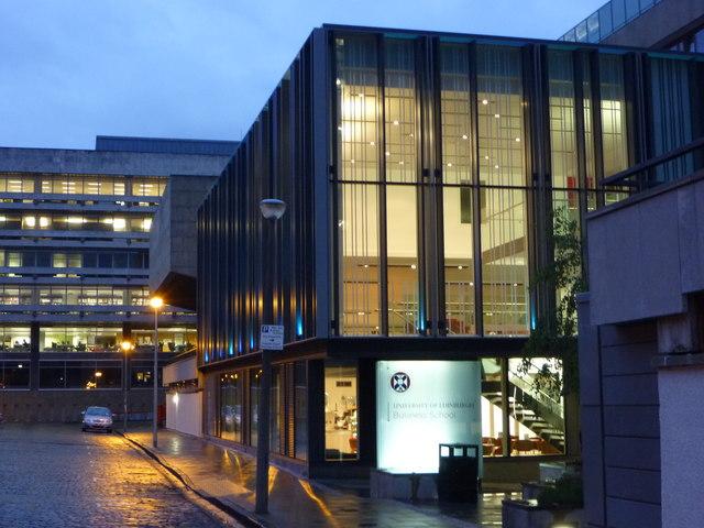Edinburgh Architecture : The University of Edinburgh Business School, Buccleuch Place