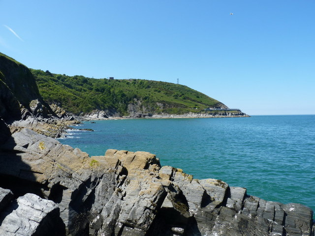 Cribach Bay from the SE