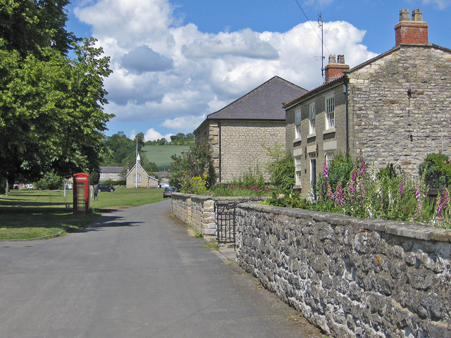 Approaching the village green, Sinnington