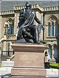 NO4030 : Robert Burns statue, Albert Square by kim traynor