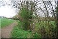 TQ1232 : Bridleway junction, West Sussex Literary Trail by N Chadwick
