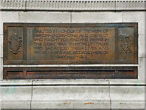 SJ9499 : Ashton-Under-Lyne War Memorial -Dedication by David Dixon