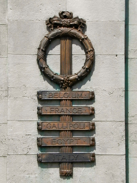 Ashton-Under-Lyne War Memorial (detail)