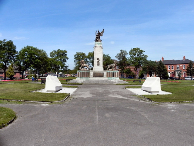 Ashton-Under Lyne Memorial Garden and Great War Memorial