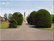 SJ9499 : Ashton-Under-Lyme Memorial Garden by David Dixon