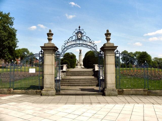 Ashton-Under-Lyne Memorial Gardens