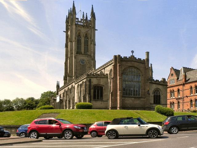 Park Parade and St Michael's Parish Church