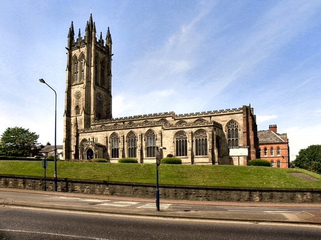 St Michael's parish Church, Ashton-Under-Lyne