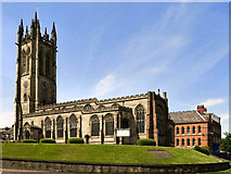 SJ9498 : Ashton Parish Church by David Dixon
