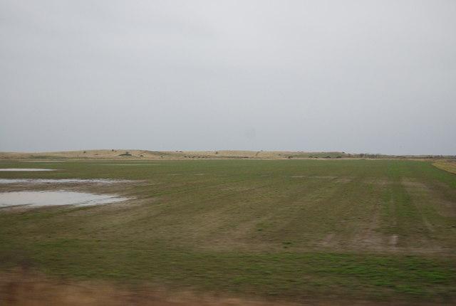 Farmland near Goswick Golf Club