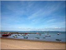 SD4464 : Receding tide at Morecambe by Karl and Ali