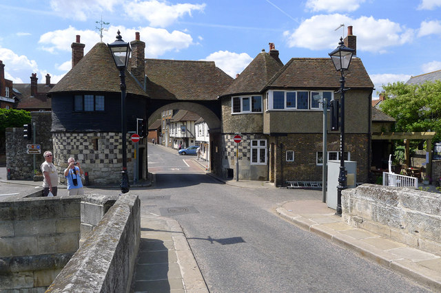 Barbican Gate, Sandwich, Kent