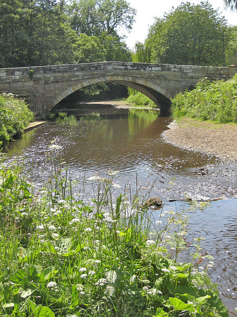 River Seven, a downstream view