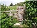 SW8671 : Cornish footpath gate by Val Pollard