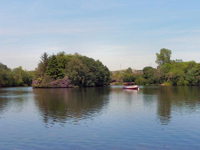 Stamford Park Lake and Island