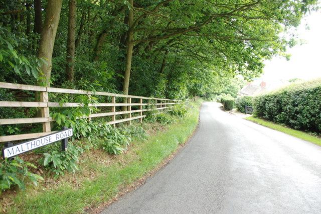 Malthouse Road, Gentleshaw