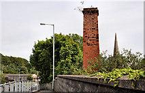 J5081 : Old chimney, Bangor by Albert Bridge