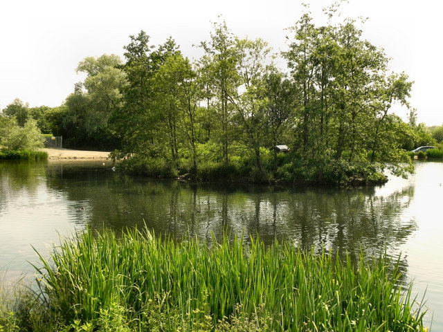 The Island, Stamford Park Upper Lake
