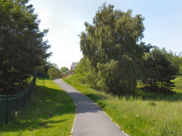 Stamford Park, Path to Mellor Road