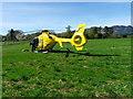 NN7720 : Air Ambulance, West Cowden by Maigheach-gheal
