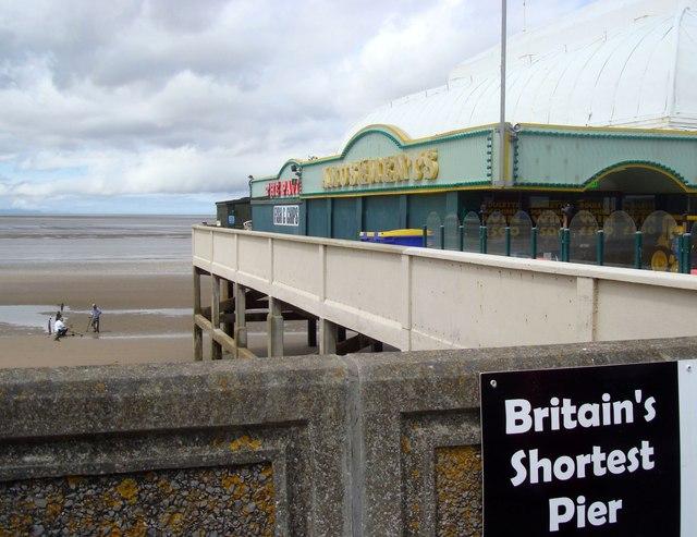 """""""Britain's Shortest Pier"""", Burnham on Sea"""