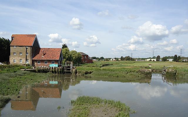 Tide Mill and Gates, Battlesbridge