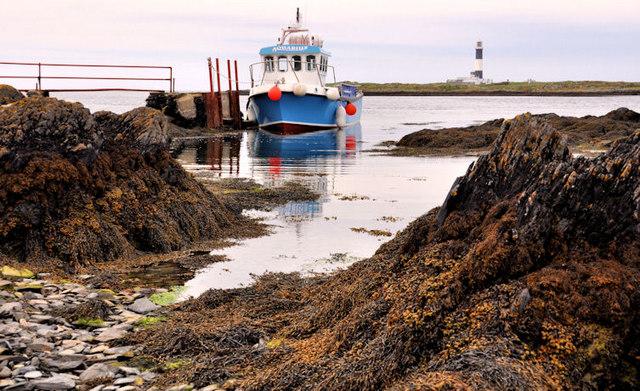 Landing stage, Lighthouse Island near Donaghadee (2)