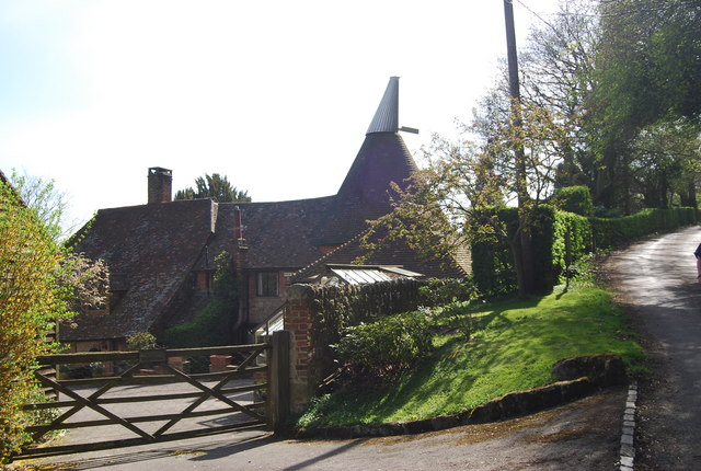 Toys Hill Farm Oast C N Chadwick Geograph Britain And Ireland
