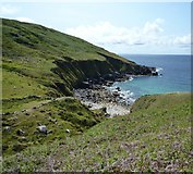 SW4237 : Porthmeor Cove by Maurice D Budden