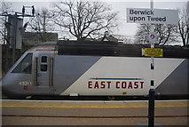 NT9953 : ECML train at Berwick Station by N Chadwick
