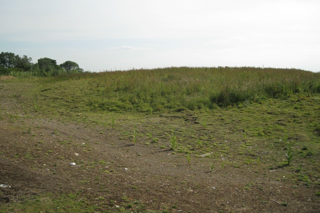Made-up ground north of Newport Pagnell Road