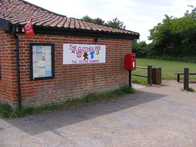 Post Office Postbox, Laxfield Road Dennington