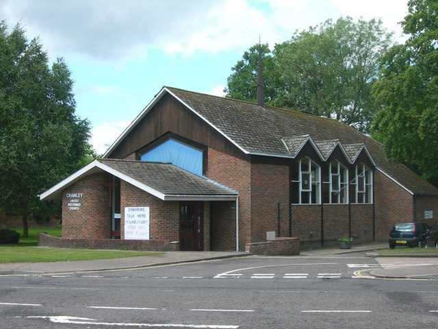 Crawley United Reformed Church by Colin Bews