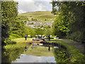 SE0411 : Huddersfield Narrow Canal, Marsden by David Dixon