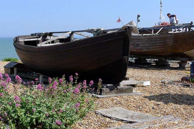 Boats on the Beach, Deal