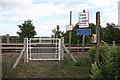 SK7783 : Freeman's Lane crossing by Richard Croft