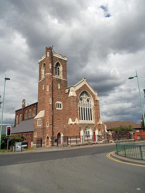 St. Paul's church in Lozells
