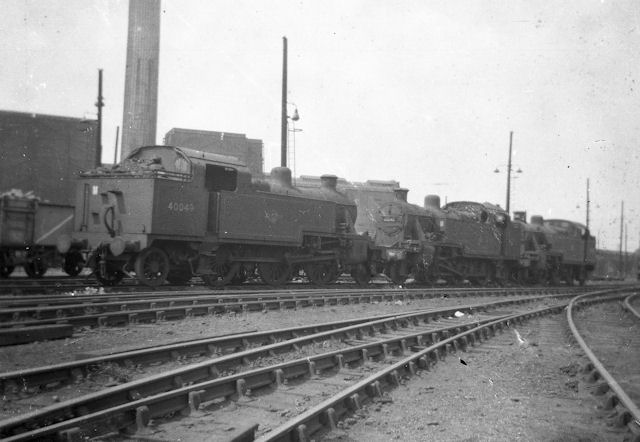 Willesden Locomotive sheds