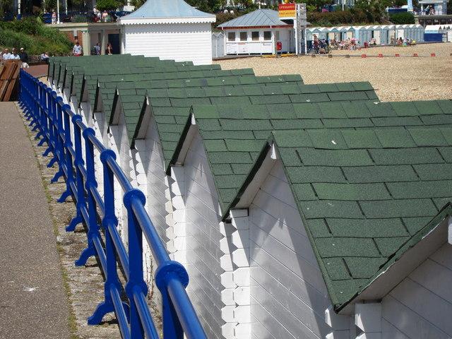 Beach hut roofs