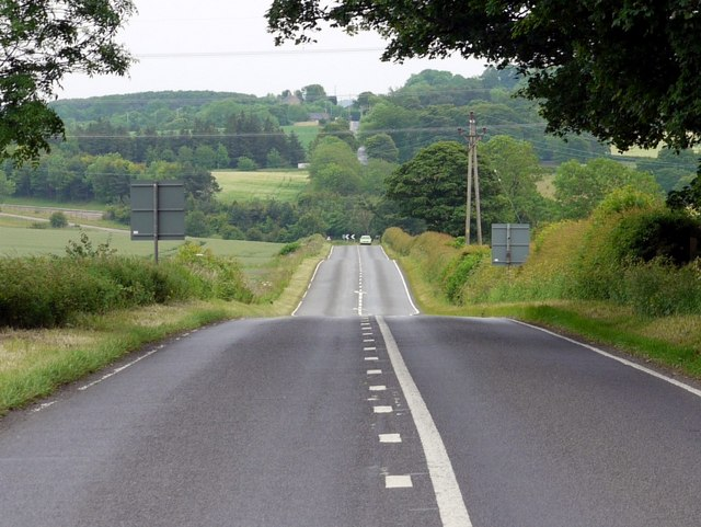 Military Road east of Rudchester