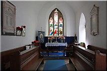 TL1589 : St Mary, Stilton - Chancel by John Salmon