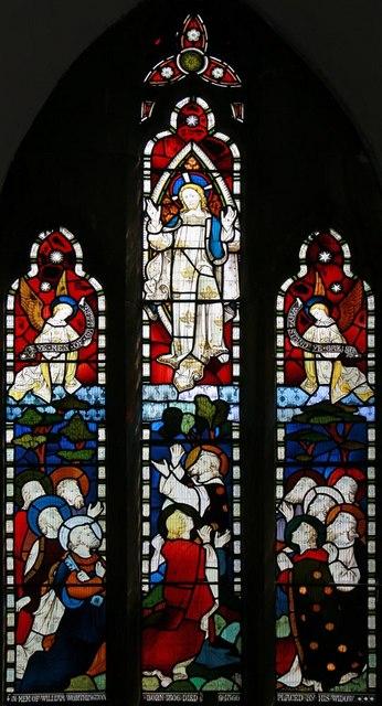 St Mary, Stilton - Stained glass window