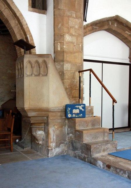 St Mary, Stilton - Pulpit