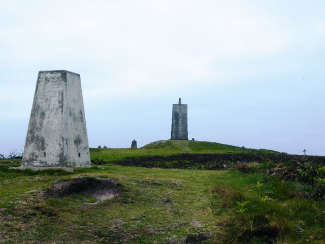 Corrin's Tower and Trig Pillar