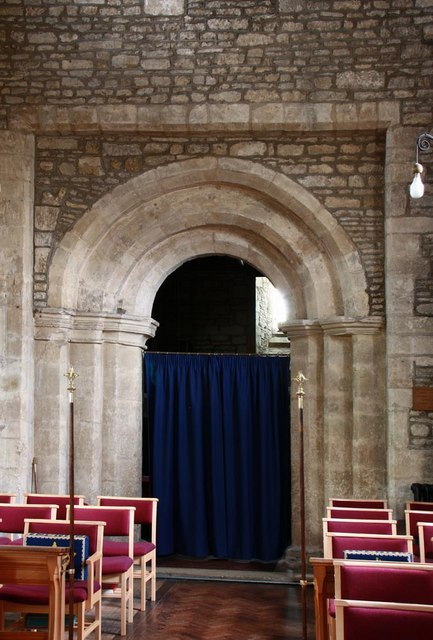 St Mary, Woodnewton - Tower arch