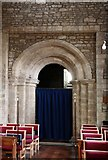 TL0394 : St Mary, Woodnewton - Tower arch by John Salmon