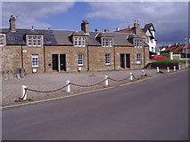 NT4999 : Cottages, The Toft, Elie by Alan Sillitoe