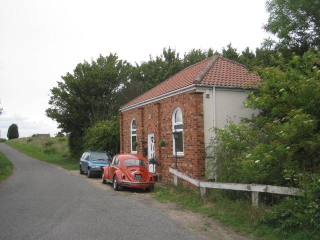 The former Methodist Chapel at Stewton